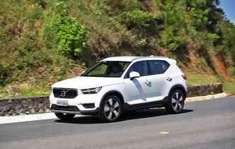 Estratégia da Volvo é fazer lançamentos exclusivos dos seus modelos. Foto: Volvo / Divulgação