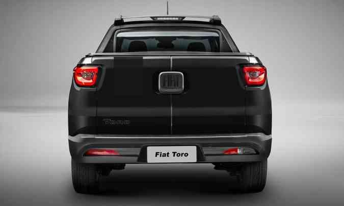 Fiat Toro Black Jack(foto: Fiat/Divulgação )
