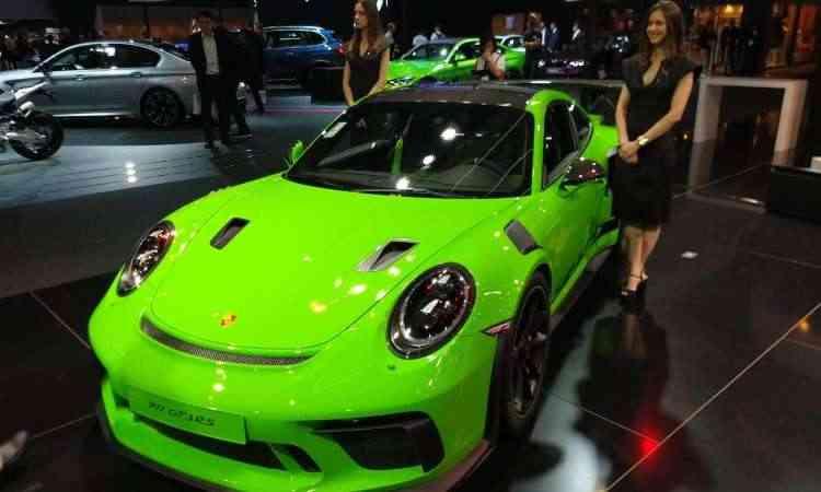 Para comemorar seus 70 anos, a Porsche traz para o Brasil o 911 GT3 RS - Pedro Cerqueira/EM/D.A Press