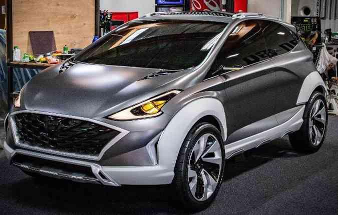 Hyundai Saga, apresentado no ano passado, compartilha conceitos com o novo HB20. Foto: Hyundai / Divulgação