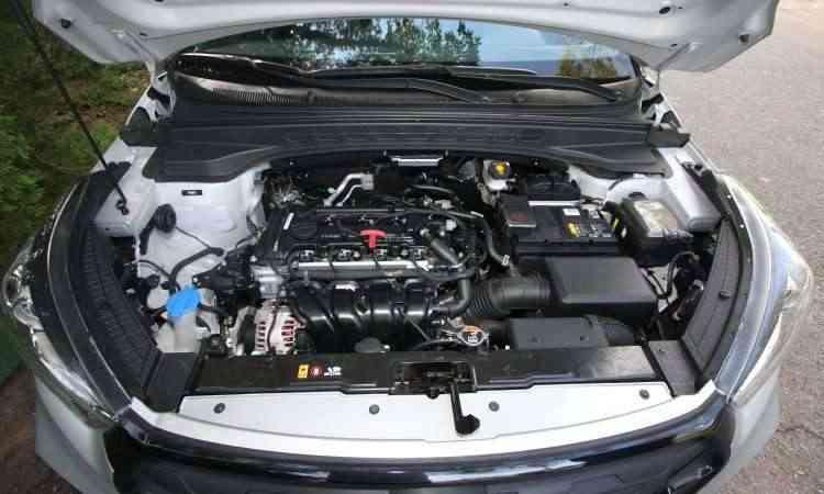 Motor 2.0 aspirado oferece bom desempenho, mas não brilha no consumo, que é elevado - Edésio Ferreira/EM/D.A Press