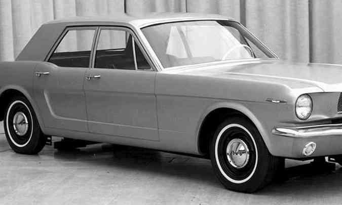 1965: carroceria de quatro portas(foto: Ford/Divulgação)