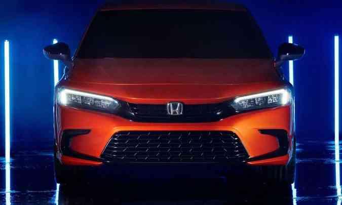 Luz diurna de LED com novo desenho e ampla entrada de ar na parte inferior do para-choque(foto: Honda/Divulgação)