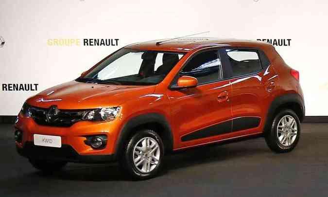 Renault Kwid(foto: Rodolfo Buhrer/Divulgação Renault)