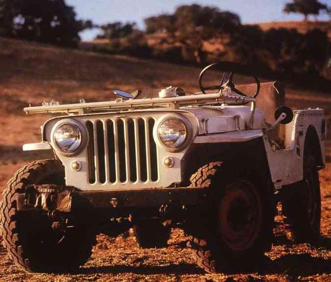 Depois da guerra, modelo encontrou sua vocação no trabalho duro(foto: Jeep/Divulgação)