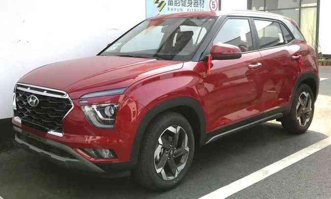 ...com a dianteira do modelo vendido na China, onde é denominado ix25(foto: Creative Commons/Reprodução)
