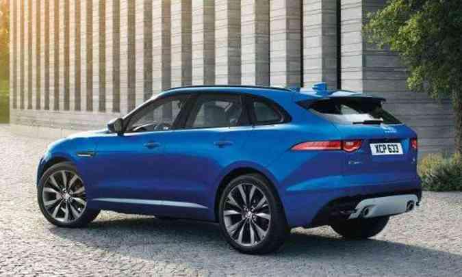 F-Pace é montado sobre a mesma arquitetura flexível do esportivo F-Type e os sedãs XF e XE(foto: Jaguar/Divulgação)