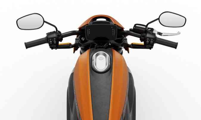 Painel sensível ao toque inclui GPS e conexão com o celular(foto: Harley-Davidson/Divulgação)