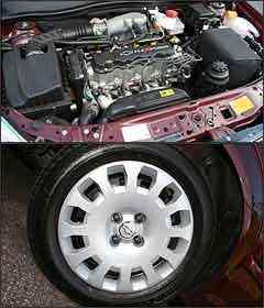 Motor 2.0 tem bom torque. Rodas são de aço com calotas -