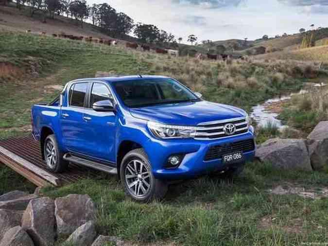 Oitava geração da picape Toyota Hilux é revelada na Tailândia Toyota/Divulgação