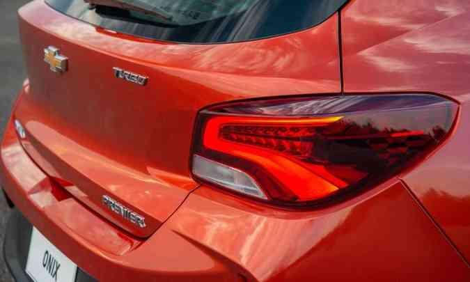 O hatch teve a traseira redesenhada, com novas lanternas(foto: Chevrolet/Divulgação)
