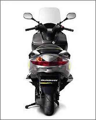 O scooter movido a hidrogênio pode ser comercializado a partir de 2015
