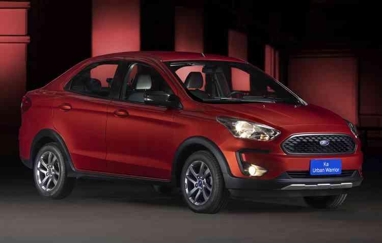 Modelo possui semelhanças com o Ford Ka Freestyle. Foto: Ford / Divulgação -