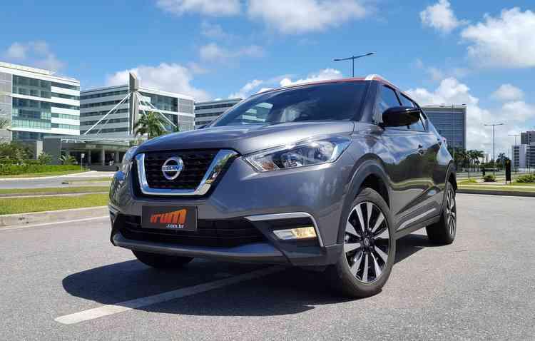 Nissan Kicks aparece pela primeira vez entre os 10 mais vendidos neste ano. Foto: Bruno Vasconcelos / DP -