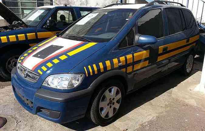 Chevrolet Zafira 2010: R$ 7.500(foto: Thiago Ventura/EM/D.A Press)
