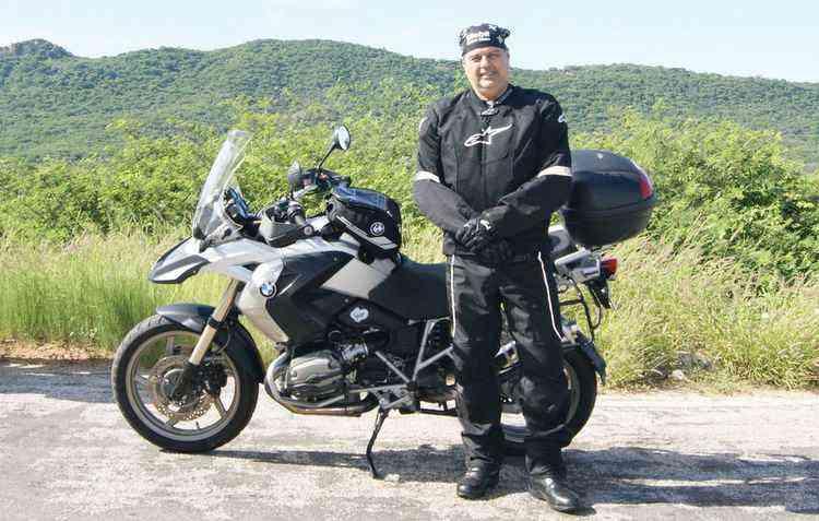 Paulo César encara passeios pelo Nordeste com sua trail - Paulo Cesar/Divulgação