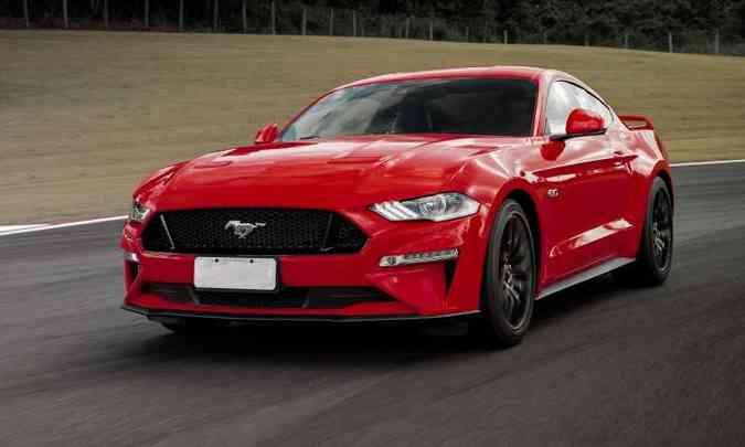 Nova geração do Ford Mustang(foto: Ford/Divulgação)