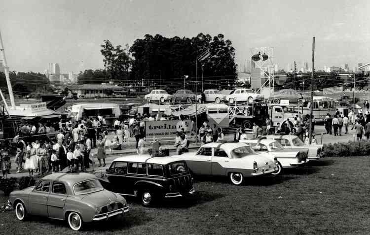 Em 1983, o evento passou a ser conhecido como o Salão do álcool, por causa do etanol. Foto: dominiopublico.gov.br/Reproducao -