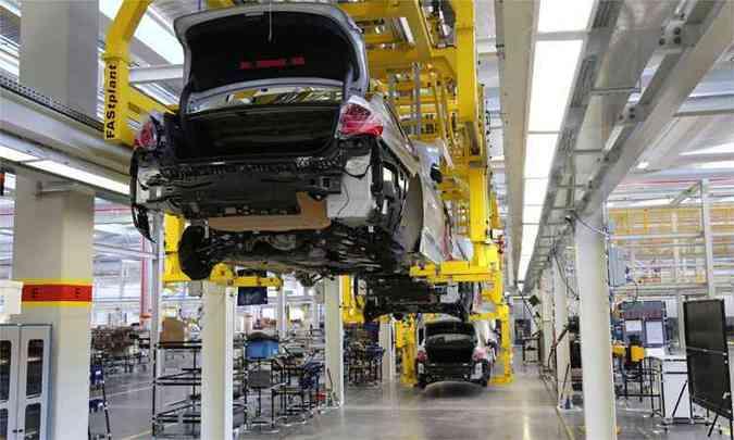 Soldagem e pintura começam a funcionar na fábrica da BMW este ano(foto: BMW / Divulgação)
