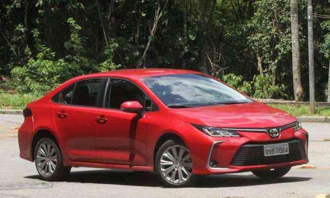 A produção do Corolla será suspensa de 13 a 22 de outubro, retornando no dia 25(foto: Jair Amaral/EM/D.A Press)