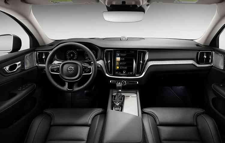 Existe ainda um painel de instrumentos digital de 12,3%u201D disponível, que traz informações mais relevantes para o motorista. Foto: Volvo / Divulgação -