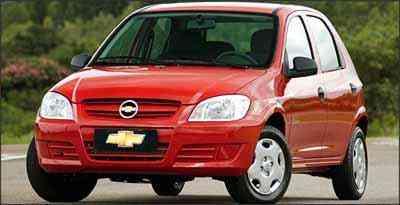 Chevrolet Celta - Fotos: Chevrolet/Divulgação