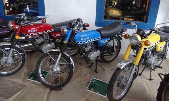 Ala das Yamaha RD 50 e 75, de 1975 em diante, as japonesas pioneiras no Brasil(foto: Téo Mascarenhas/EM/D.A Press)
