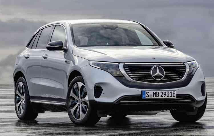 Desenho do EQC difere dos outros SUVs da alemã, com sua carroceria peculiar. Foto: Mercedes-Benz/Divulgação - Mercedes-Benz/Divulgação