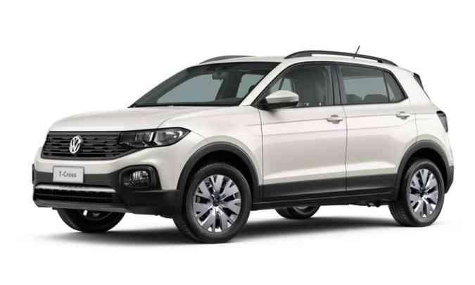 No mercado de seminovos, um VW T-Cross chega a ser vendido com acréscimo de R$ 20 mil no preço da tabela Fipe(foto: Volkswagen/Divulgação)