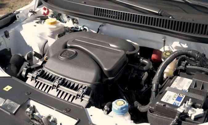 Motor 1.4 Fire Evo inclui o odiado tanquinho de partida a frio(foto: Jorge Lopes/EM/D.A Press)
