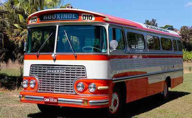 Ciferal 1966 será exibido no encontro da Confraria do Ônibus(foto: Julio Cesar Diniz/Divulgação Rouxinol )