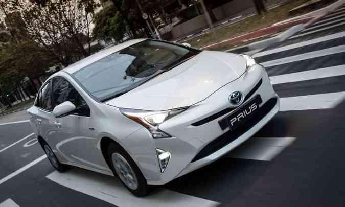Toyota Prius: a partir de R$ 126.600(foto: Toyota/Divulgação)