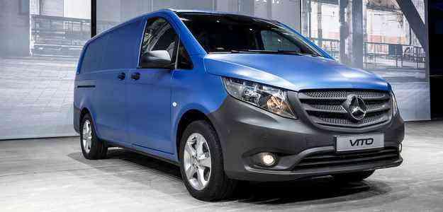 Autonomia da van gira em torno de 17,5 km/L, com pouca emissão de poluentes - Mercedes/divulgacao