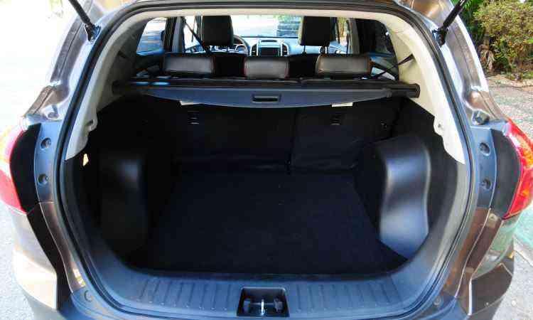 ...e bagagem, mas a qualidade dos materiais... - Gladyston Rodrigues/EM/D.A Press