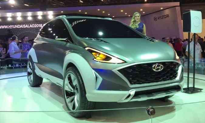 Hyundai Saga dá a dica de como será o novo HB20(foto: Pedro Cerqueira/EM/D.A Press)
