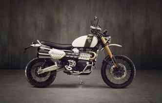 Modelo utiliza design retrô e motorização atual. Foto: Triumph / Divulgação