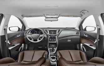 Principal novidade fica por conta da central blueMedia, disponível para todos os modelo. Foto: Hyundai / Divulgação