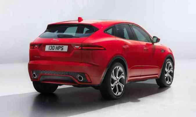 ... para favorecer ainda mais o desempenho, proporcionado por motores a diesel ou a gasolina(foto: Jaguar/Divulgação)
