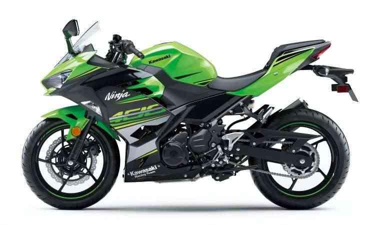 O motor de dois cilindros paralelos fornece 45cv de potência - Kawasaki/Divulgação