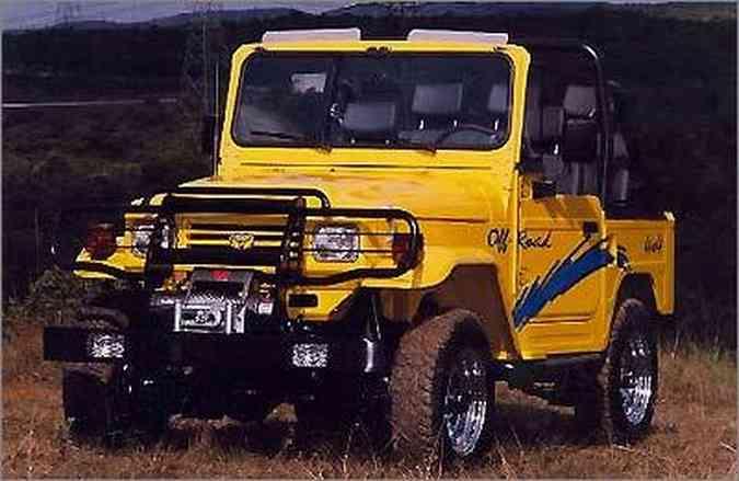 A série especial Sport marcou a despedida do Bandeirante em 2001, após 39 anos e 103.750 carros produzidos