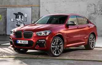 Após 4 anos desde o seu lançamento, X4 recebe sua primeira modificação. Foto: BMW / Divulgação