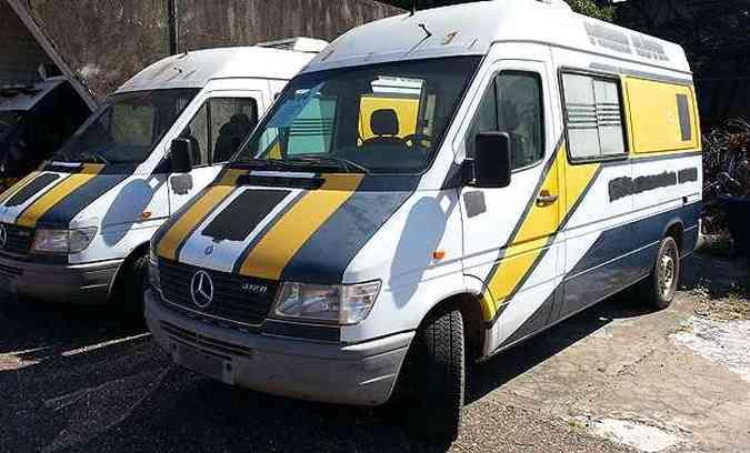 Mercedes-Benz Sprinter tem lance mínimo de R$ 3.500(foto: Thiago Ventura/EM/D.A Press)