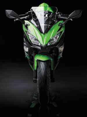 O quadro foi redesenhado e ficou mais leve - Kawasaki/Divulgação