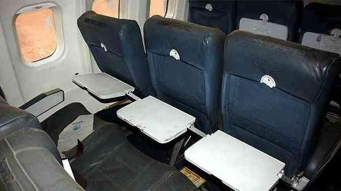 Poltronas em couro foram preservadas(foto: Skyliner-aviation.de/Divulgação)