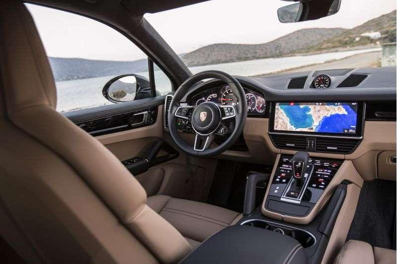 Interior do Novo Cayenne - Porsche/ Divulgação