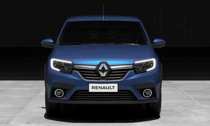 Faróis vão ganhar assinatura de LED e para-choque tem novas molduras para as luzes de neblina(foto: Renault/Divulgação)