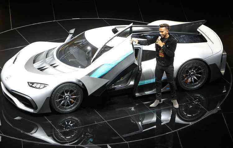 Preço do AMG Project One fica na casa do R$ 8 milhões  - Daniel Roland /AFP
