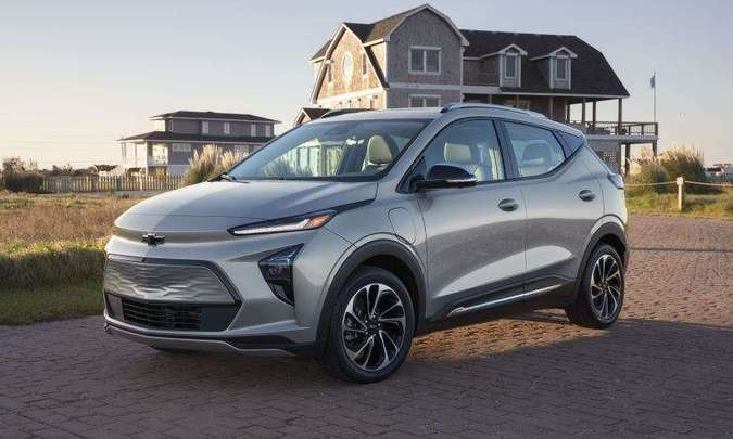 Variante SUV é denominada Bolt EUV(foto: Chevrolet/Divulgação)