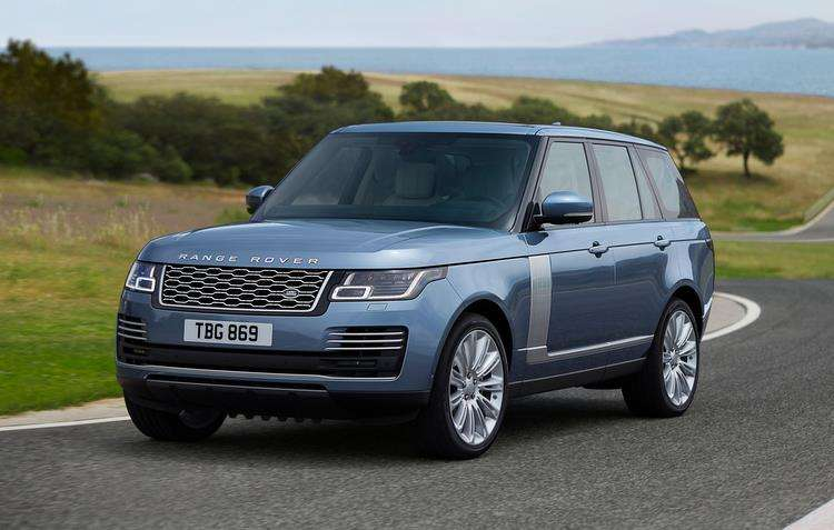 Nova versão do Range Rover 2018 recebeu mais comodidade dentro da cabine. Foto: Jaguar Land Rover / Divulgação -