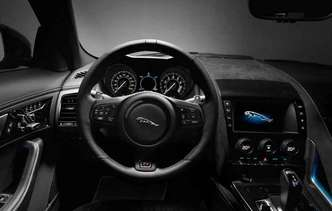 De acordo com dados da montadora o carro vai de 0 a 100 km/k em 3,6 segundos(foto: Jaguar / Divulgação)
